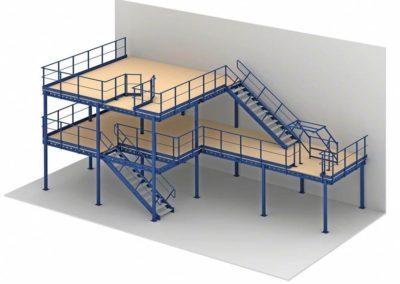 Pódium szerkezeti ábra